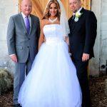 Well Pic (bride,groom,rev)