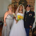 bride:dad:mom