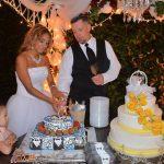 cutting grooms cake